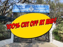 Ambedkar University Cut Off 2017