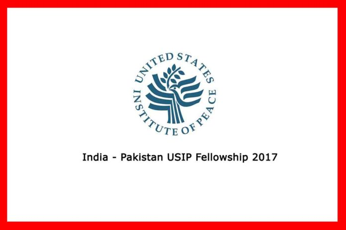 India Pakistan USIP Fellowship in US 2017