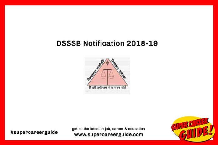 DSSSB Delhi Government