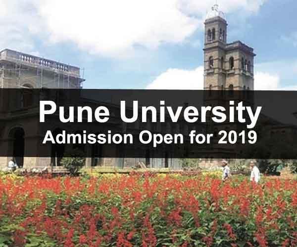 Pune University Admission 2019
