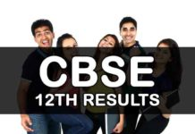 CBSE 12th Results 2019