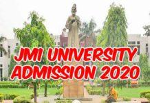 Jamia Admission 2020