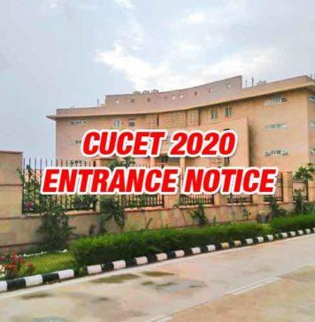 CUCET 2020