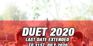 Delhi University Entrance Test 2020