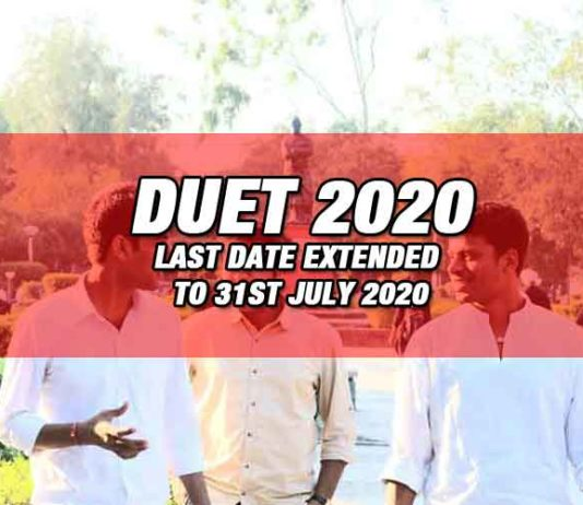 Delhi University Entrance Test 2020